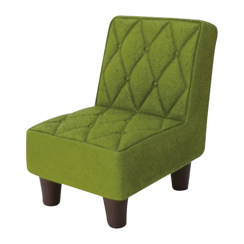 Decole日本擺設玩偶 / 公仔 / 道具 / 配件 - Concombre 綠色復古沙發 ( ZCB-26799 )