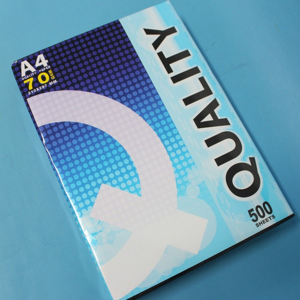 QUALITY A4影印紙 白色影印紙 (70磅)/一包500張入