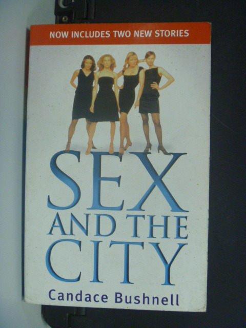【書寶二手書T2/一般小說_MIB】Sex and The City_BUSHNELL