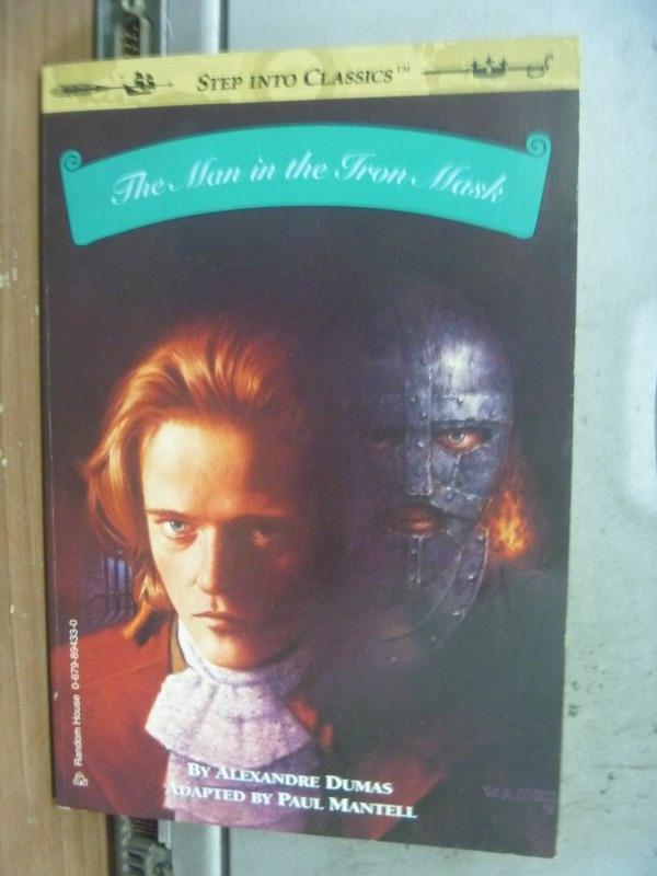 【書寶二手書T4/原文小說_MNK】The Man in the Iron Mask