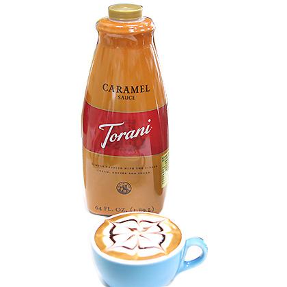 裝飾醬--焦糖醬 Torani-美國特朗尼 64OZ/罐-【良鎂咖啡吧台原物料商】