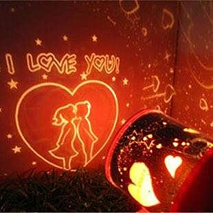 =優生活=『我愛你投射燈!』第二代愛心星空戀人Star Lover月份投影燈/投射燈