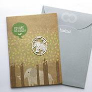 大象 書籤 18K金 卡片 送禮 禮品 鏤空雕花 花邊手帳鄉村手作婚禮小物 迷你 迴紋針 書夾