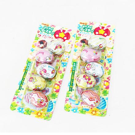 [敵富朗超市]明治蛋型巧克力(附玩具)