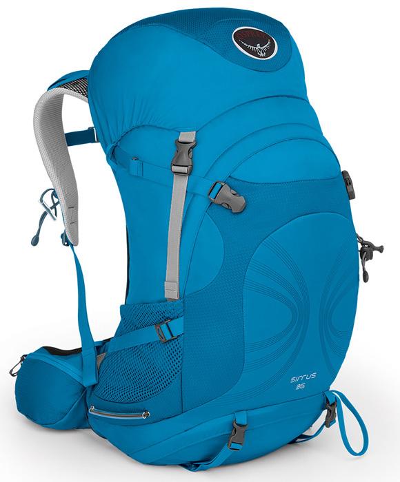 【鄉野情戶外專業】 Osprey |美國|  SIRRUS 36 登山背包《女款》/自助旅行背包 健行背包 運動背包-藍XS/S/Sirrus36 【容量36L】