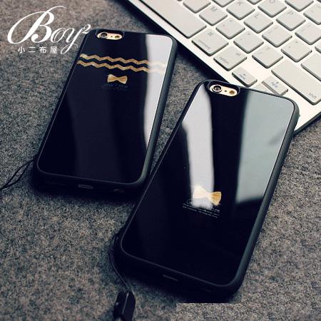 ☆BOY-2☆【N4013】韓版鏡面掛繩手機殼 蘋果iPhone6 5/5s