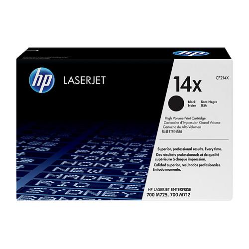 HP CF214X 原廠黑色高容量碳粉匣 適用 M712dn/M712N/M725DN