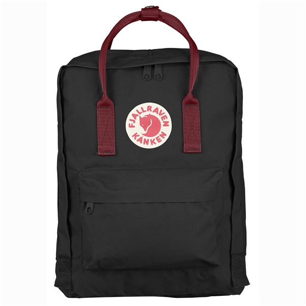 【Fjallraven Kanken 】K?nken Classic 550-326 Black & Ox Red 黑公牛紅