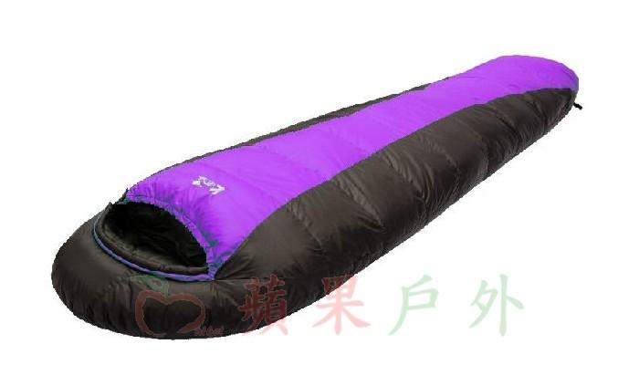 【【蘋果戶外】】吉諾佳 AS400B 超保暖型羽絨睡袋 絨重400g Lirosa 僅1000g 耐寒度0~7度C