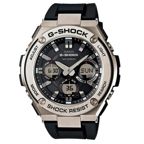 CASIO G-SHOCK 突破自我強悍有力運動腕錶/GST-S110-1A