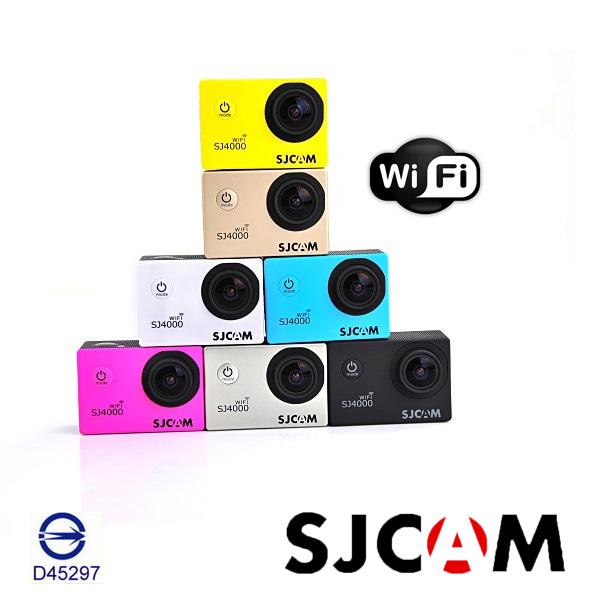 SJCAM原廠SJ4000 運動相機 WIFI版  保固一年 可更新 機車行車紀錄器 防水相機 空拍攝影機