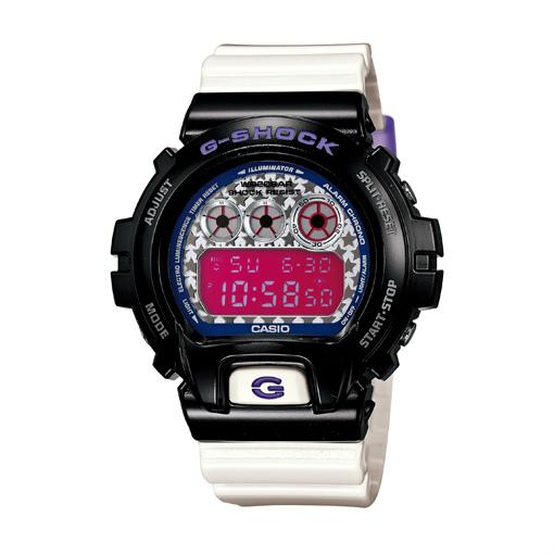 CASIO G-SHOCK DW-6900SC-1DR星彩數位流行腕錶/50mm