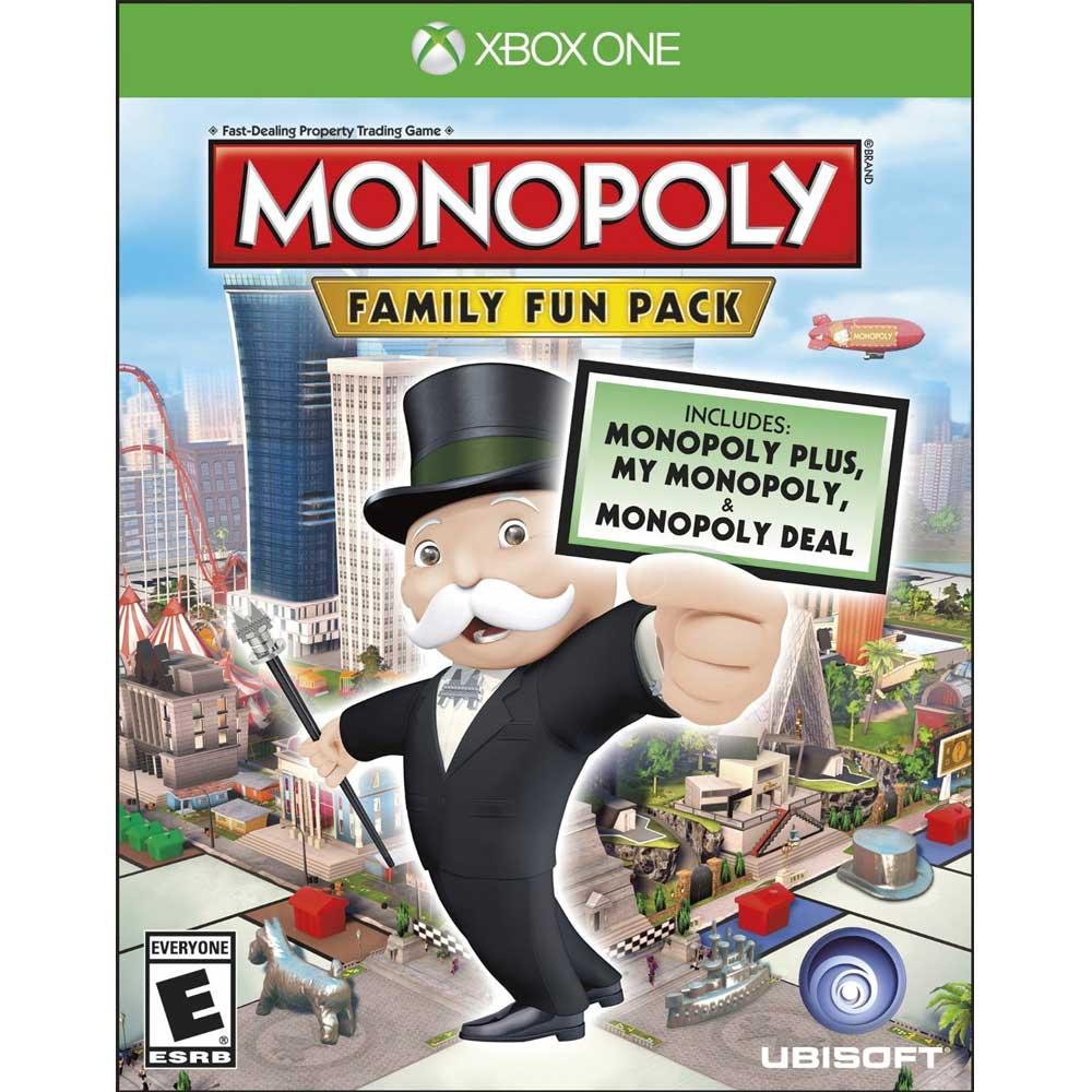 (全新盒損)XBOX ONE 地產大亨:家庭歡樂包 英文美版 Monopoly Family Fun Pack