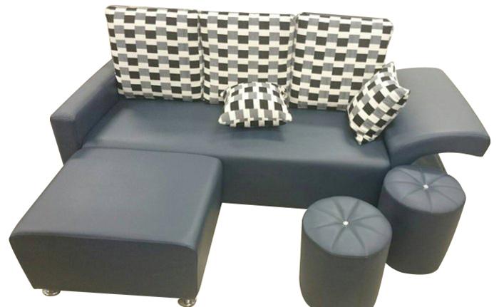 【尚品家具】797-01 水鑚功能型皮L型沙發