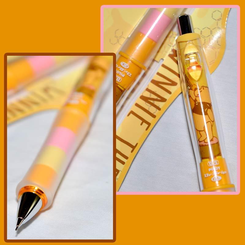 小熊維尼 Pooh 迪士尼 搖搖自動鉛筆 0.5mm 日本製 可變換色彩造型
