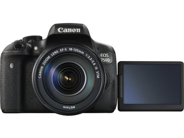 Canon EOS 750D kit (18-135STM) 彩虹公司貨 含稅價