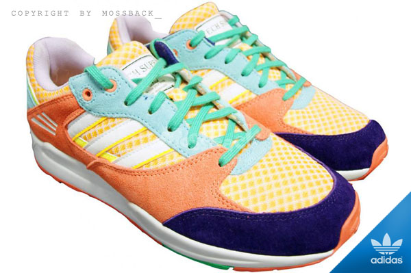 『Mossback』ADIDAS TECH SUPER W 柳丁 慢跑鞋 橘色(女.)NO:B25899
