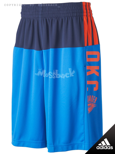 『Mossback』ADIDAS SMR RN SHORT NBA運動 短褲 藍色(男.)NO:S20167