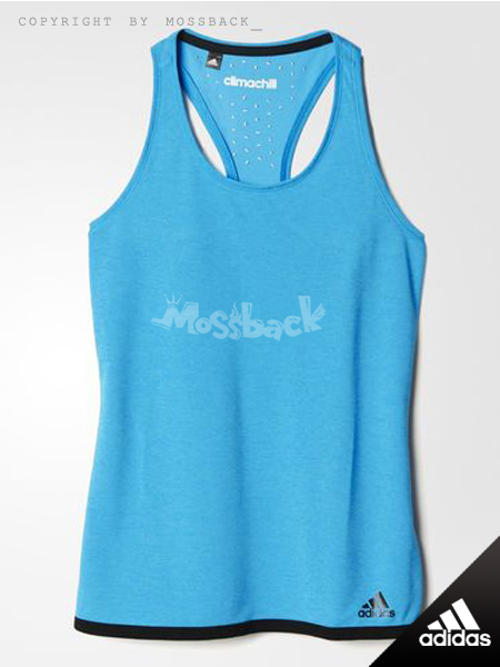 『Mossback』ADIDAS CLIMACHILL TANK TOP 背心 藍色(女.)NO:S24517