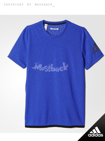 『Mossback』ADIDAS CLIMACHILL 短T 排汗 紫色(男.)NO:S26996