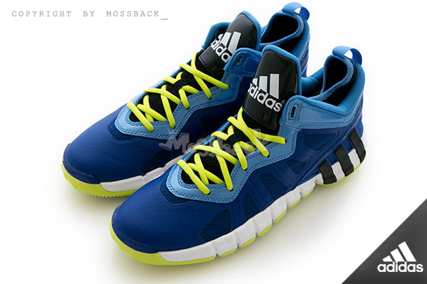 『Mossback』ADIDAS CRAZYQUICK 2.5 LOW 低筒 籃球鞋 寶藍(男.)NO:S84012