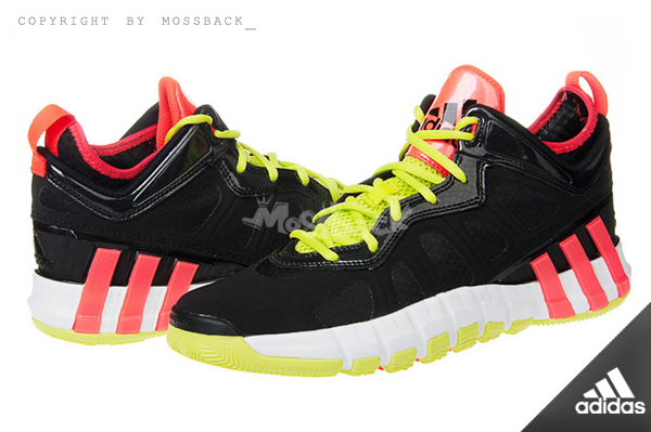 『Mossback』ADIDAS CRAZYQUICK 2.5 LOW 低筒 籃球鞋 黑色(男.)NO:S84013