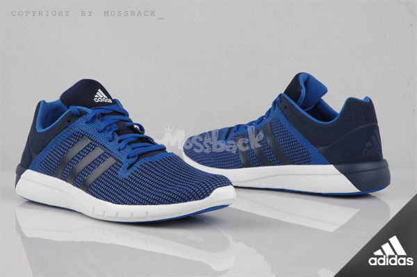 『Mossback』ADIDAS CC FRESH 2 M 輕量 緩震跑鞋 深藍(男)NO:B22964