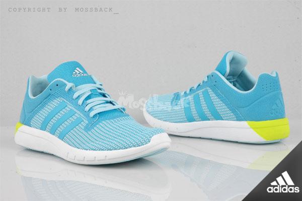 『Mossback』ADIDAS CC FRESH 2 W 輕量 緩震跑鞋 水藍白(女)NO:B22976