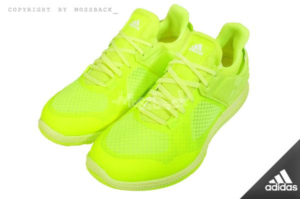 『Mossback』ADIDAS ATANI BOUNCE 多功能訓練鞋 螢光黃(女)NO:B24082
