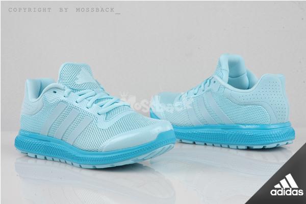 『Mossback』ADIDAS ENERGY BOUNCE W 輕量 跑鞋 編織 粉藍(女)NO:s83376