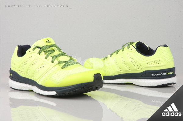 『Mossback』ADIDAS SUPERNOVA SEQUENCE BOOT 8 慢跑鞋 黃黑(男)NO:AF6255