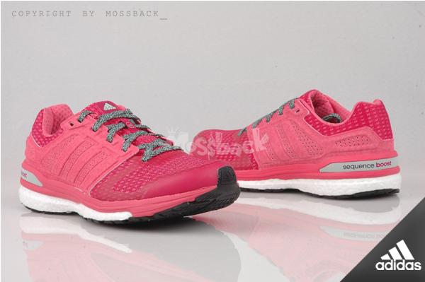 『Mossback』ADIDAS SUPERNOVA SEQUENCE BOOT 8 慢跑鞋 粉紅(女)NO:B33450