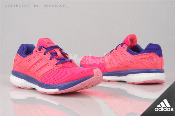 『Mossback』ADIDAS SUPERNOVA GLIDE BOOST 7 W 慢跑鞋 桃紅紫白(女)NO:B33608
