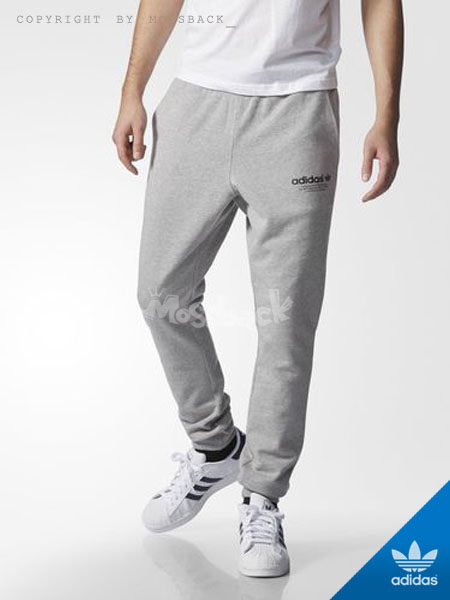 『Mossback』ADIDAS FASHION SWEAT PANTS 縮口 束口 棉褲 灰色(男)NO:AJ7255