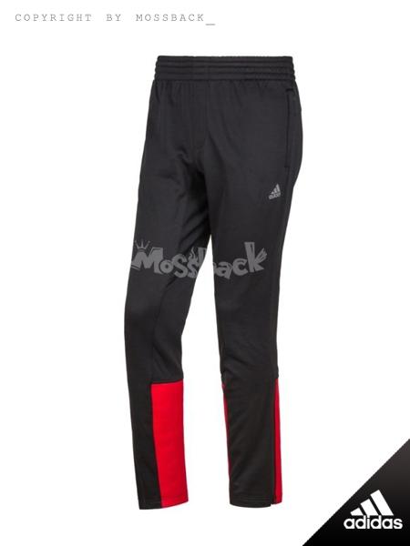 『Mossback』ADIDAS LILLARD 2 3M 反光 長褲 黑紅(男)NO:AO1479