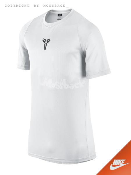 『Mossback』NIKE KOBE MAMBULA ELITE SHOOTER 短袖 上衣 白色(男)NO:718608-100