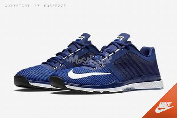 『Mossback』NIKE ZOOM SPEED TR 3 慢跑鞋 訓練 藍白(男)NO:804401-414