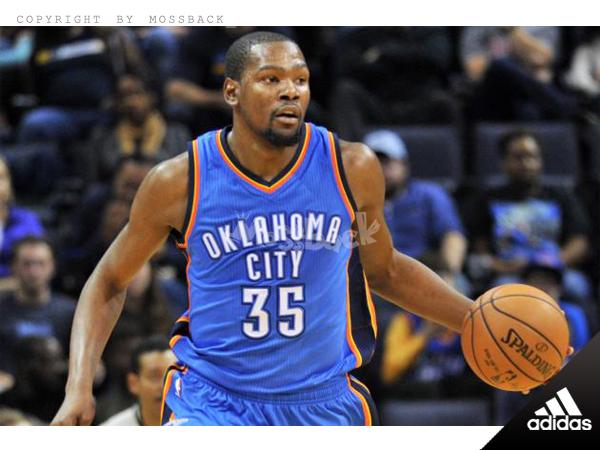 『Mossback』ADIDAS NBA DURANT #35 雷霆隊 客場 球衣 藍色(男)NO:A46194