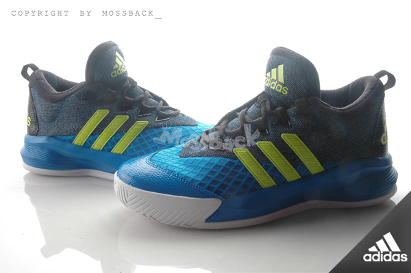 『Mossback』ADIDAS CRAZYLIGHT 2.5 ACTIVE 平民版 籃球 避震 藍黑(男)NO:AQ8597