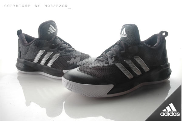 『Mossback』ADIDAS CRAZYLIGHT 2.5 ACTIVE 平民版 籃球 避震 黑灰(男)NO:D70069
