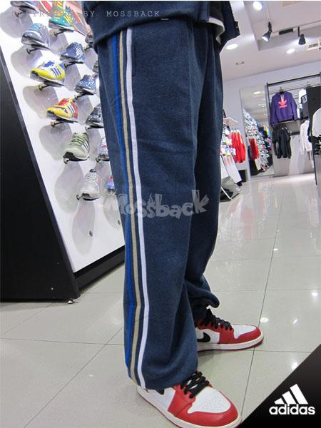 『Mossback』ADIDAS ESS 3S SW PT CH 棉褲 長褲 藍色(男)NO:M67795