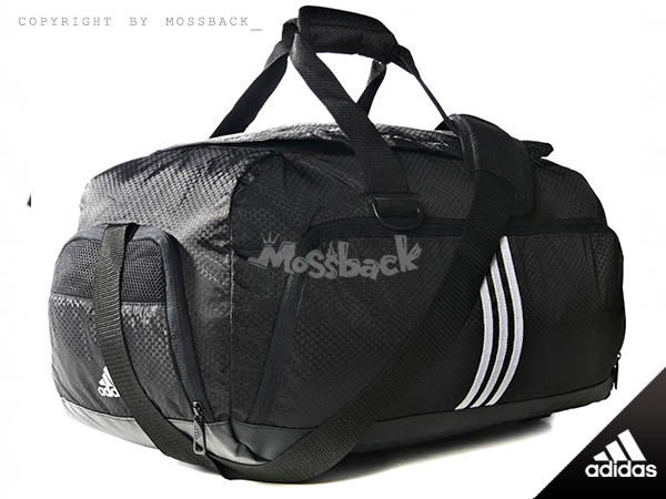 『Mossback』ADIDAS BASIC FITTED T31 運動 斜跨 手提袋 裝備袋 黑色NO:M67802