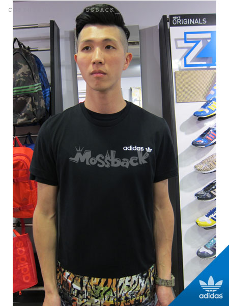 『Mossback』ADIDAS CITY TEE 城市 豹紋 短T 黑色(男)NO:S19131