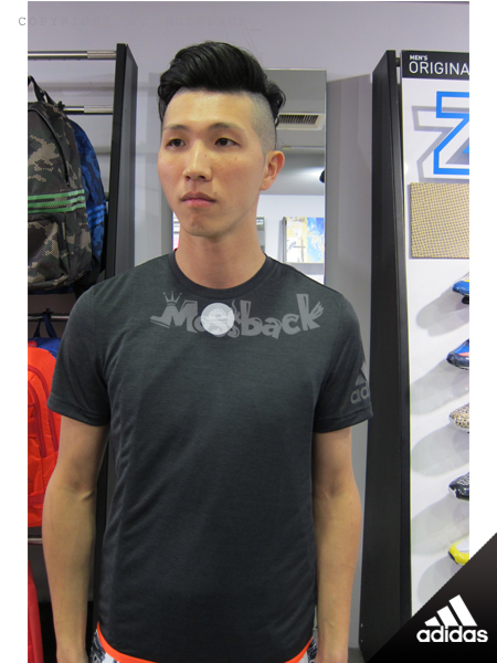 『Mossback』ADIDAS CLIMACHILL 涼爽 透氣 排汗 短T 黑橘(男)NO:S26995