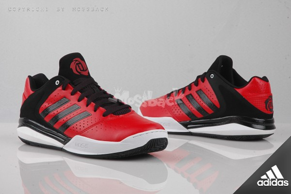 『Mossback』ADIDAS D ROSE ENGLEWOOD TD 玫瑰 籃球鞋 紅黑(男)NO:S83792