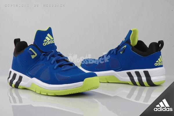 『Mossback』ADIDAS CRAZYQUICK STREET 籃球鞋 藍白(男)NO:S83851