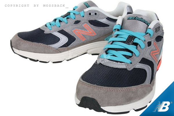 『Mossback』NEW BALANCE 透氣 運動 慢跑鞋 麂皮 灰綠粉(女)NO:WW880LG2