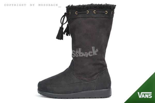 『Mossback』VANS TIMOTHY SLIM I/H2 雪靴 靴子 中筒靴 毛絨 日韓 保暖 黑色(女)NO:V8689W-BK