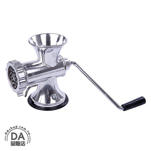 《DA量販店》DIY 自助 手動 絞肉機 碎肉機 灌香腸機 送加長管(79-1286)