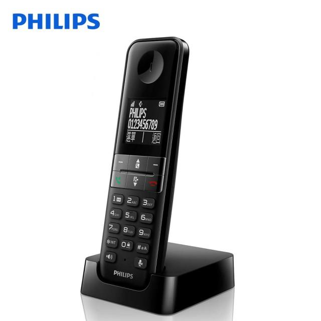 PHILIPS飛利浦 中文數位無線電話 D4501B/D-4501